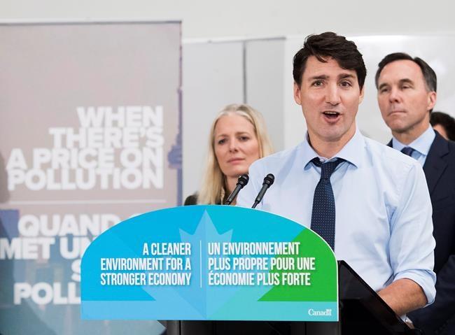 Les citoyens bénéficieront de la taxe carbone, assure Trudeau