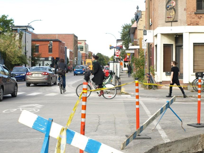 Une nouvelle piste cyclable protégée sur Saint-Vallier