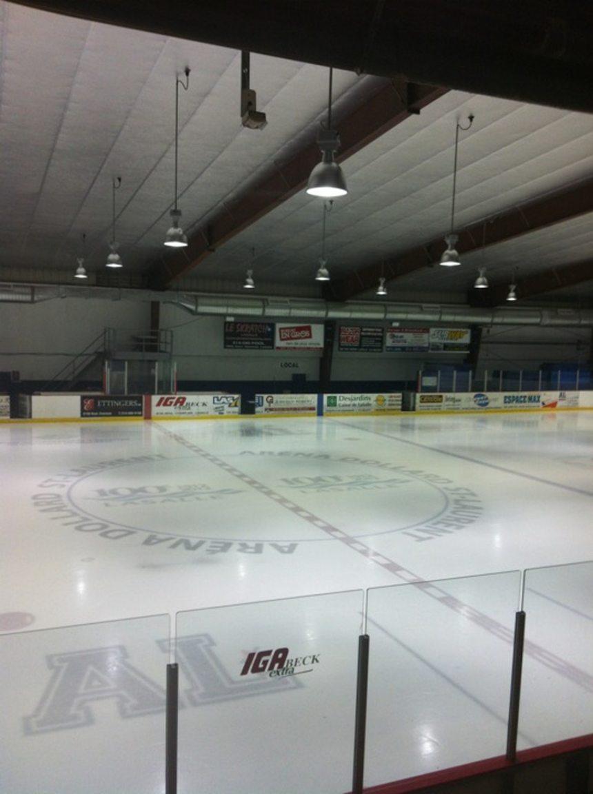 LaSalle: rénovation de la patinoire à l'Aréna Dollard-St-Laurent