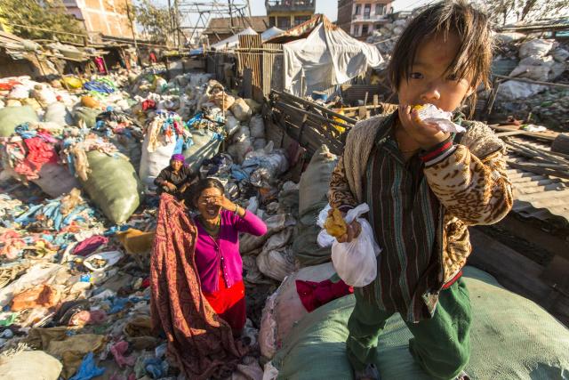 Près de 50% de la population mondiale vit avec moins de 5,50$ par jour