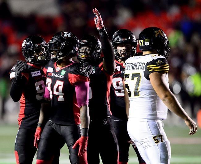 Le Rouge et Noir défait les Tiger-Cats 35-31