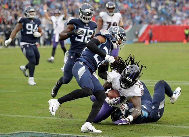 Les Ravens écrasent les Titans 21-0