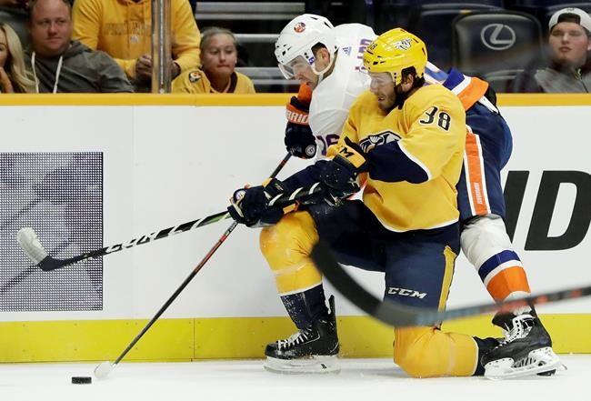 Les Predators battent les Islanders 5-2