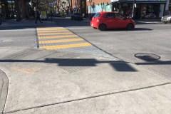 Des nouvelles traverses piétonnes sur la rue Ontario
