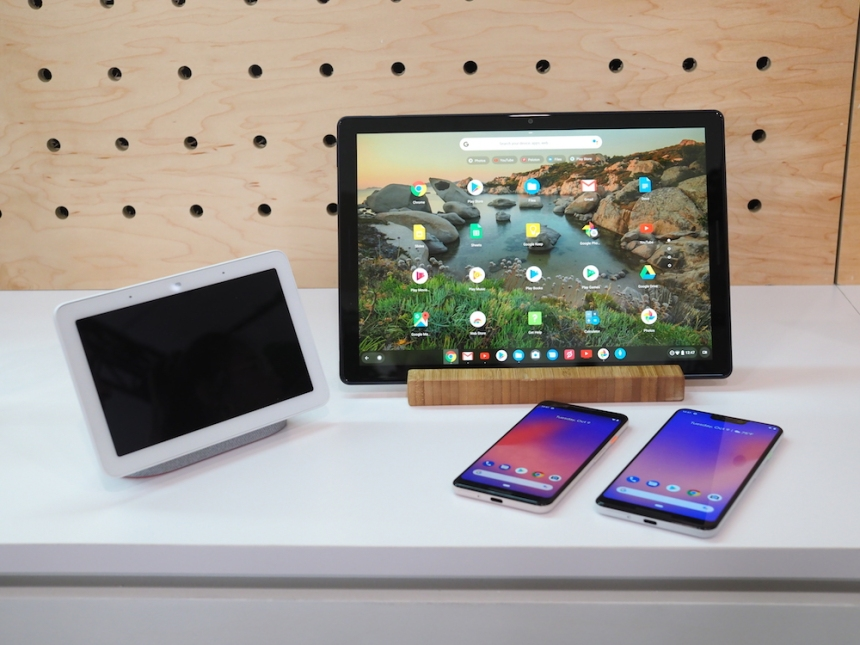 Pixel 3, Pixel Slate et Google Home Hub : mes premières impressions
