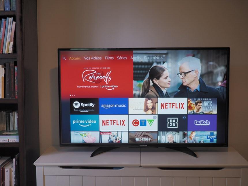 Mise à l'essai: Alexa rehausse les Toshiba Fire TV Edition