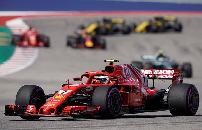 Raikkonen remporte le Grand Prix des États-Unis
