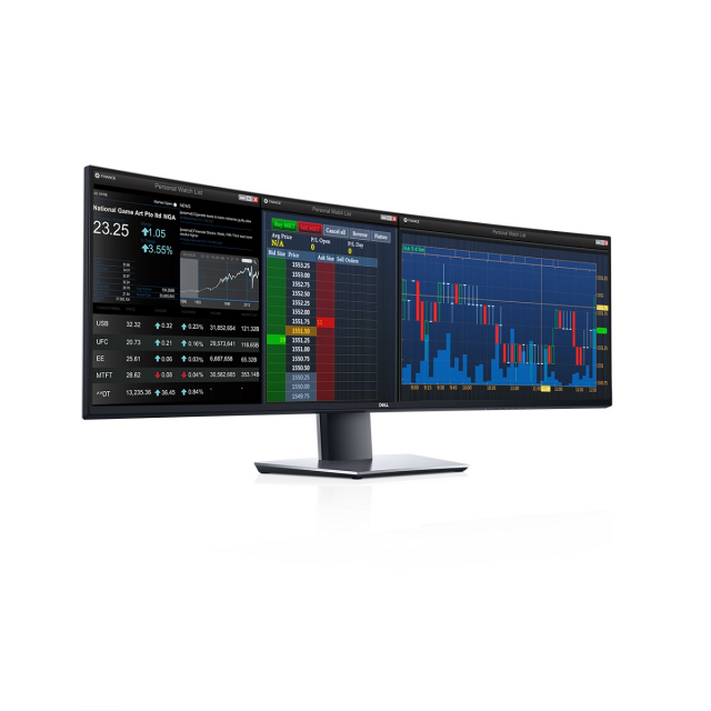 Dell dévoile un écran d'ordinateur de près de 1m25 de large
