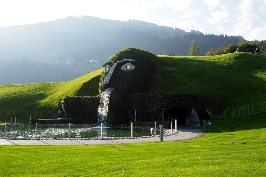 Visiter le scintillant musée Swarovski Kristallwelten