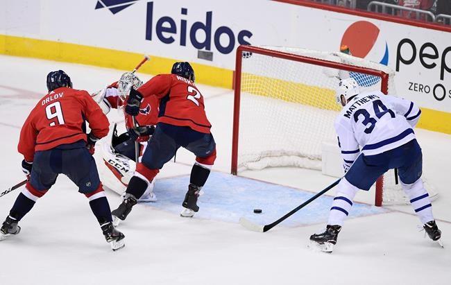 Les Maple Leafs battent les Capitals 4-2