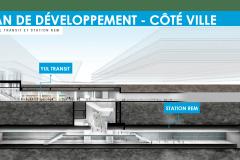 Appel d'offres pour la station du REM à l'aéroport Montréal-Trudeau