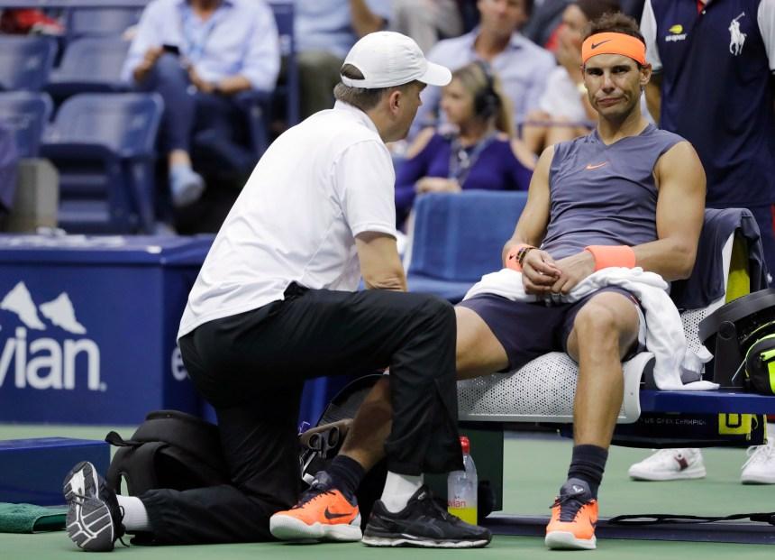 Nadal se retire des Finales de l'ATP