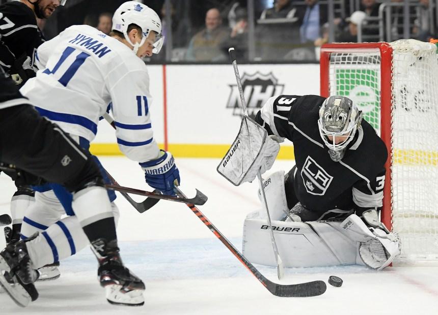 L'attaquant des Leafs Hyman souffre d'une déchirure ligamentaire au genou
