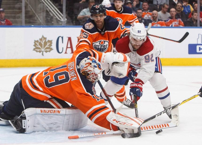 Le match Canadien-Oilers en cinq moments