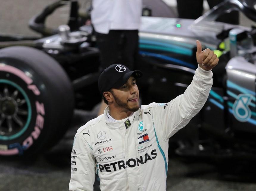 Hamilton obtient la pole au GP d'Abou Dhabi