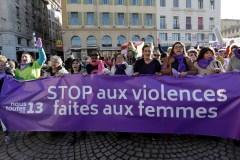 L'Europe manifeste contre les violences faites aux femmes