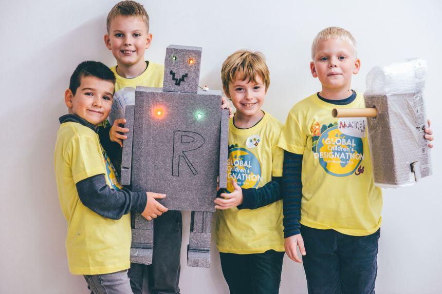 Designathon: impliquer la voix des enfants en environnement
