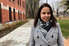 Priorité aux transports et au développement local pour la candidate à la mairie Caroline Bourgeois