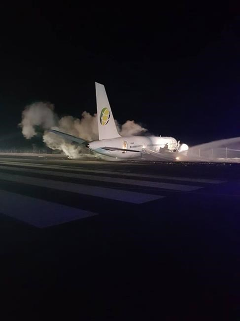 Un avion transportant des Canadiens se pose d'urgence au Guyana