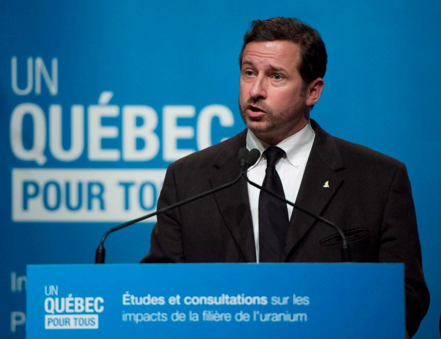 Course à la direction du Bloc: Yves-François Blanchet lancera sa campagne le 15 décembre