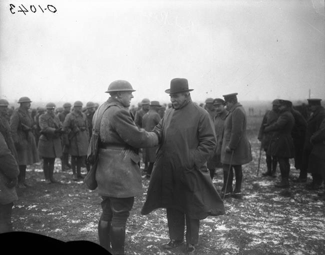 Soutien aux vétérans: héritage de la Grande Guerre