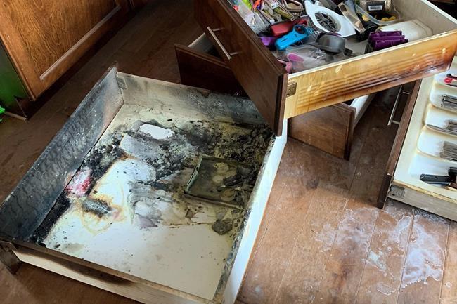 Les piles: une bombe dans vos tiroirs de cuisine