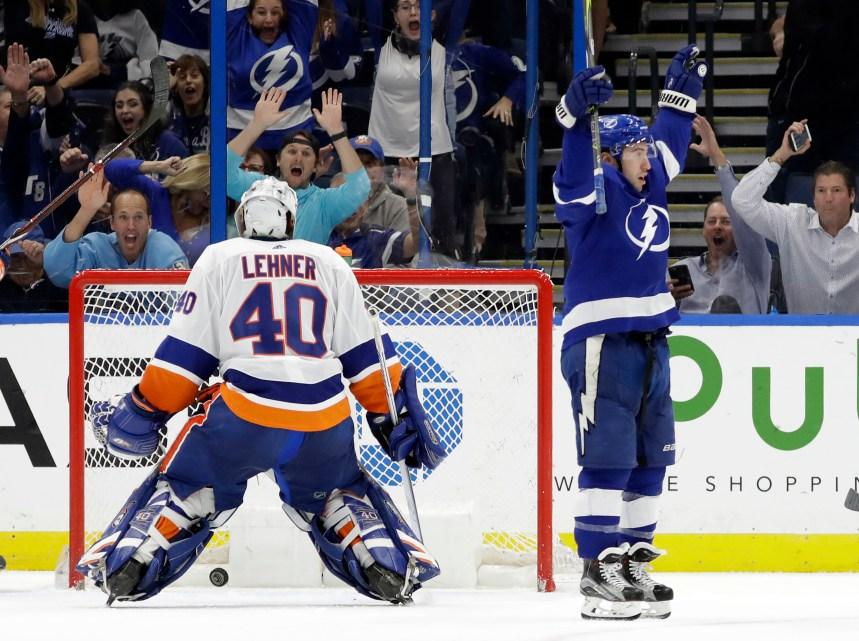 Le Lightning défait les Islanders 4-2