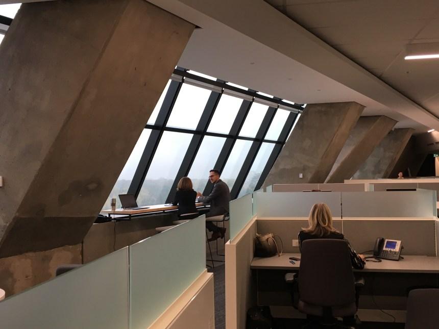 Desjardins bien établi dans ses nouveaux bureaux au Stade olympique