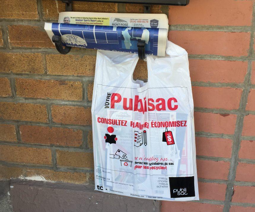 Pétition contre les publisacs: Montréal renvoie la balle aux arrondissements