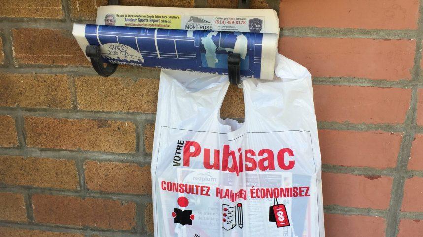 Montréal lance une pétition sur le Publisac en vue d'une consultation publique