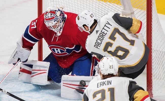Le Canadien défait les Golden Knights 5-4