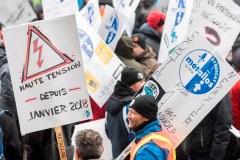ABI: des syndiqués manifestent à Montréal