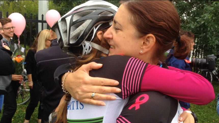 Riding to help cancer patients