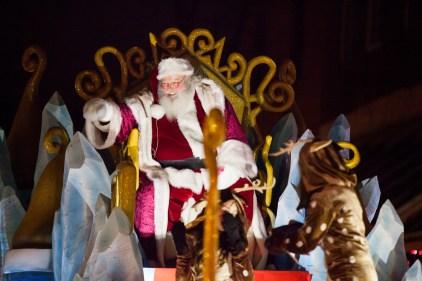 Pas de défilé du père Noël sur la Plaza cette année