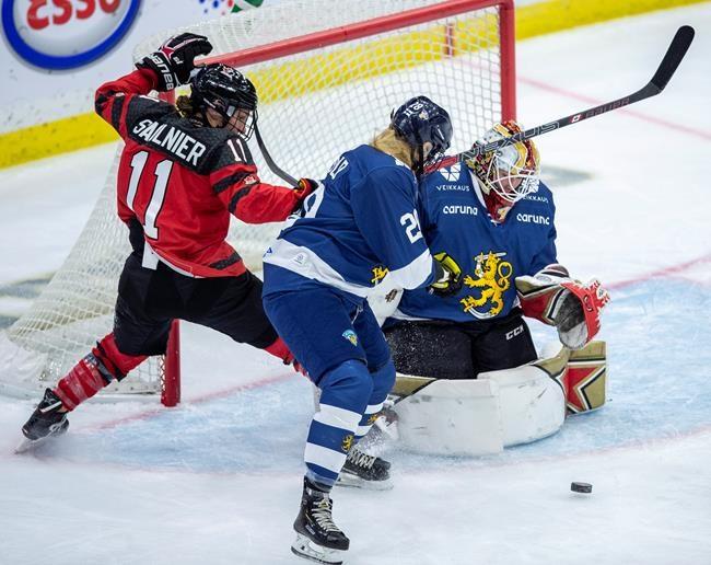 Hockey féminin: Finale entre le Canada et les États-Unis