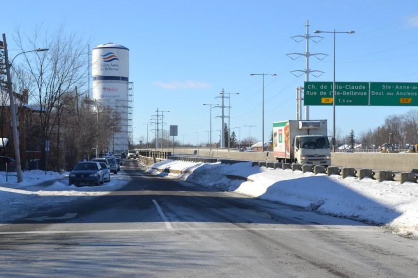 Sainte-Anne-de-Bellevue veut un mur antibruit