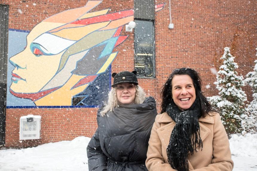 Une murale hommage à Diane Dufresne