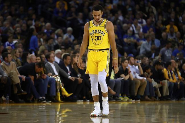 Warriors: Stephen Curry est blessé à l'aine