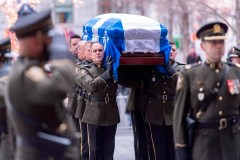 Dernier adieu à Bernard Landry, le patriote