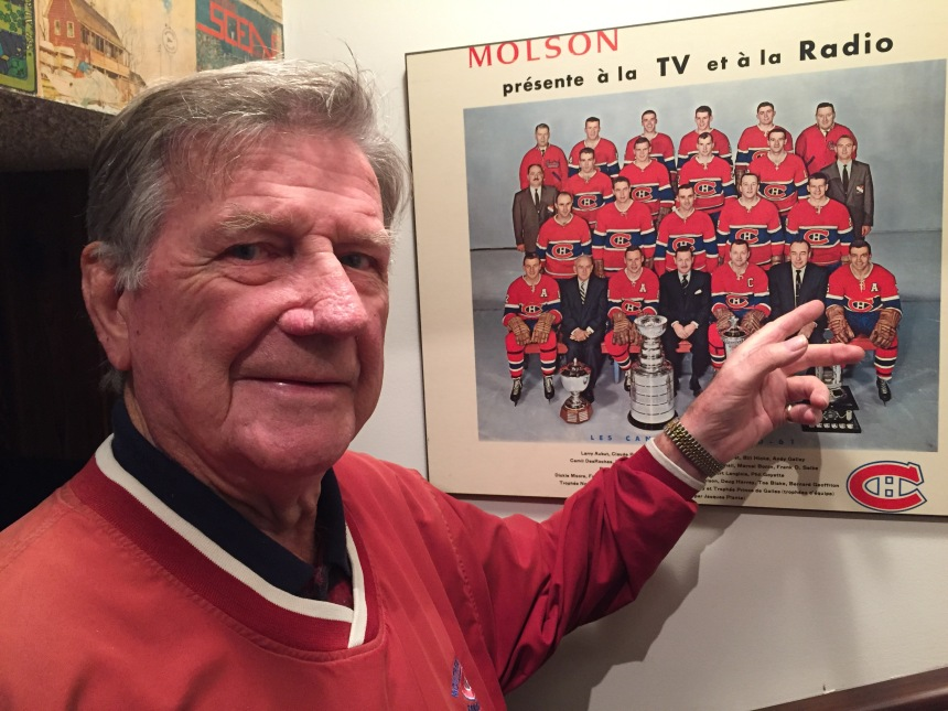 Former Canadien Phil Goyette celebrates 85th birthday