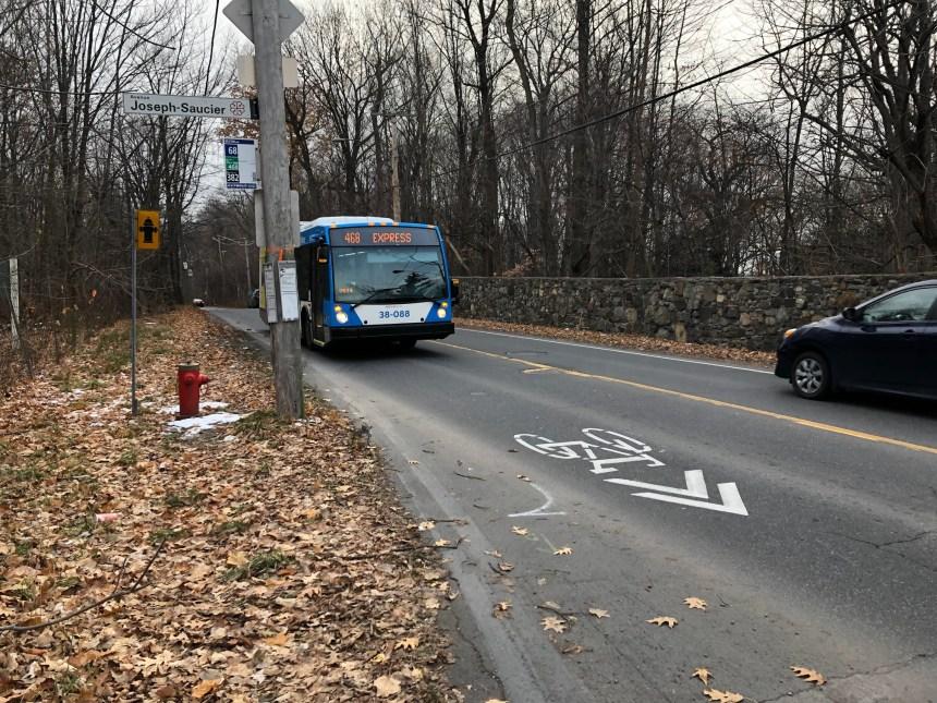 Une piste cyclable suscite la colère à Cartierville