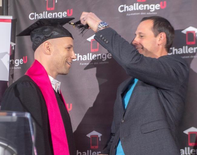 22 ans plus tard, Steve Bégin obtient son diplôme d'études secondaires