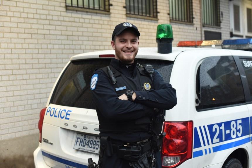 Tommy Fortier reçoit un prix des policiers du Québec