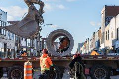 Chantiers: Montréal refuse «une demande sur deux» pour améliorer la circulation
