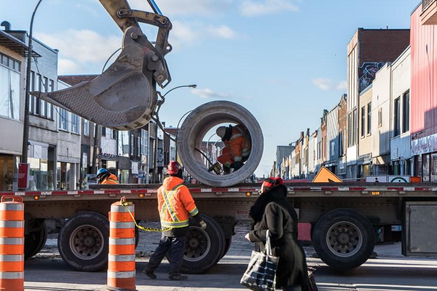 Chantiers: Montréal veut connaître «en temps réel» les entraves à la mobilité