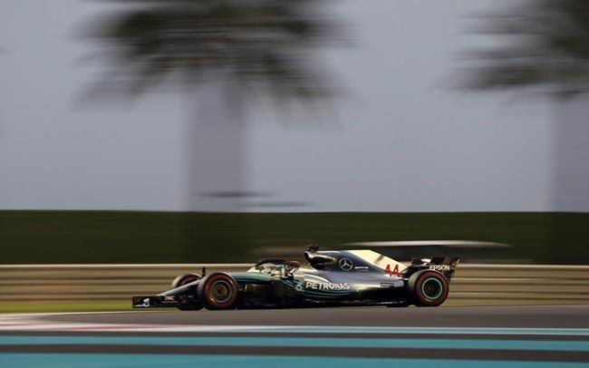 Hamilton remporte le GP d'Abou Dhabi