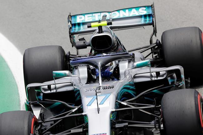 F1: Bottas est le plus rapide des essais vendredi