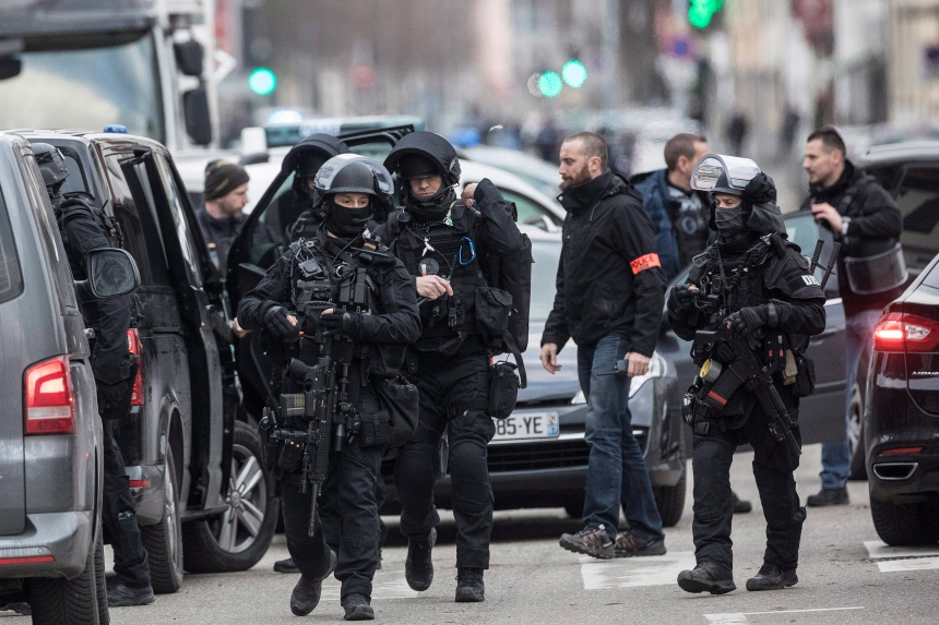 Opération policière à Strasbourg, 5 personnes en garde à vue