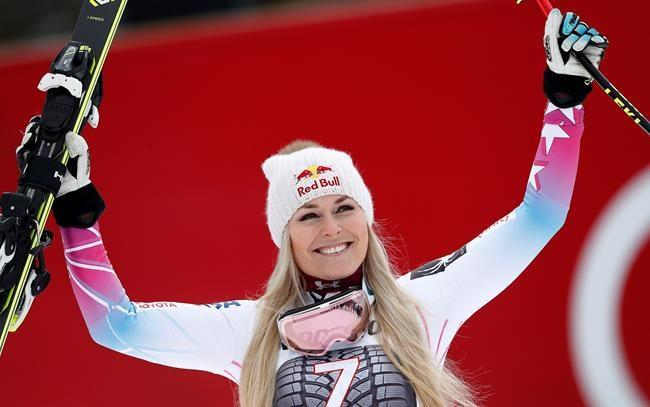 Lindsey Vonn espère revenir en janvier