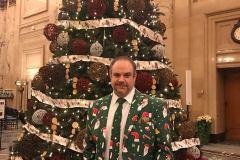 Le maire du Sud-Ouest en habit de Noël